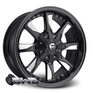 "18"" Fuel Hydro D603 Matte Black Milled"