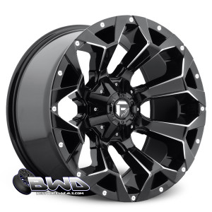 "20"" Fuel Assault D576 Gloss Black"
