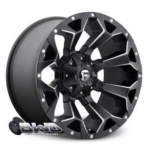 "20"" Fuel Assault D546 Matte Black"