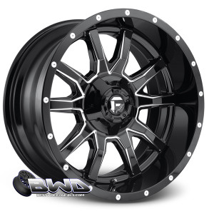 "20"" Fuel Vandal D627 Gloss Black"