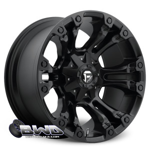 "20"" Fuel Vapor D560 Matte Black"