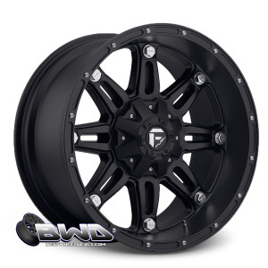 "20"" Fuel Hostage D531 Matte Black"