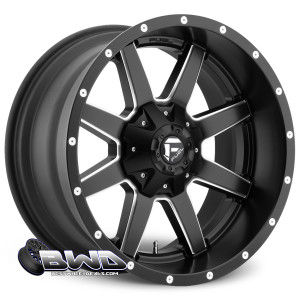 "20"" Fuel Maverick D538 Matte Black"