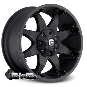 """20"""" Fuel Octane D509 Matte Black"""