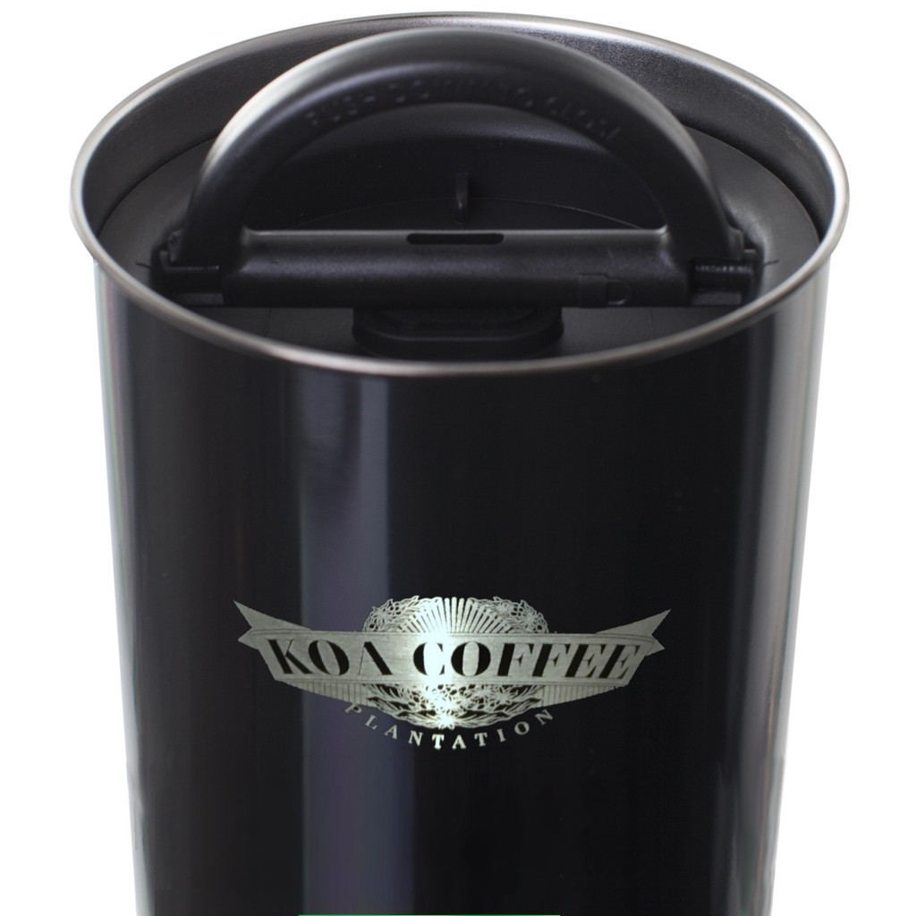 Koa Coffee Air-Tight Stainless Steel Coffee Storage Canister