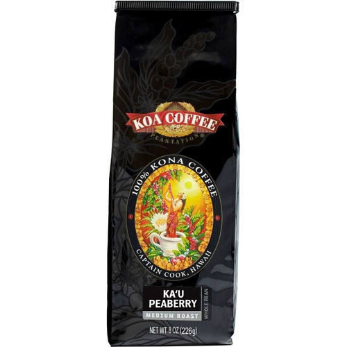 Ka'u Peaberry Medium Roast Whole Bean Coffee - Limited Release
