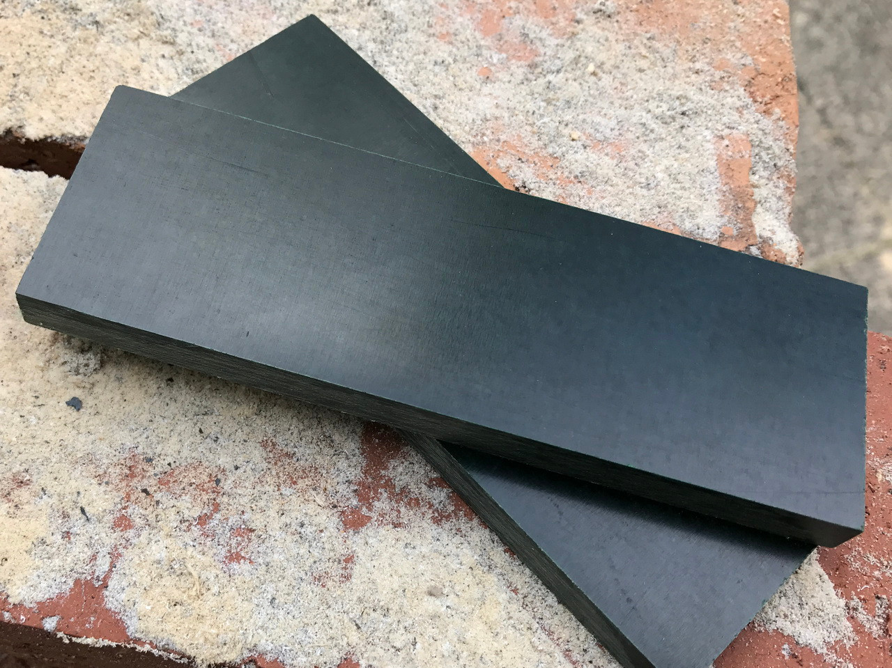 Green Linen Micarta Handle Scales X 2 8 Mm Creative Man