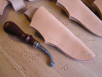 Instructions - Pouch Style Leather Sheath