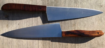 Showing some finished results made by Frank R from the Chef 205 blade in 8A Japanese Stainless Steel.