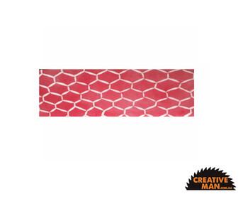 Pink Fence, Acrylic Handle Scales