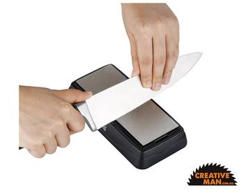 Taidea Chef Knife Sharpener, Diamond Coated Bench Stone