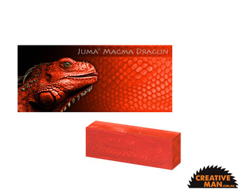 Juma Magma Dragon, Handle Scales x 2