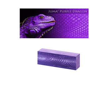 Juma Purple Dragon, Handle Scales x 2