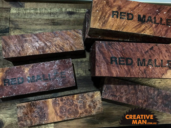 Red Mallee Burl Blocks, Super Grade