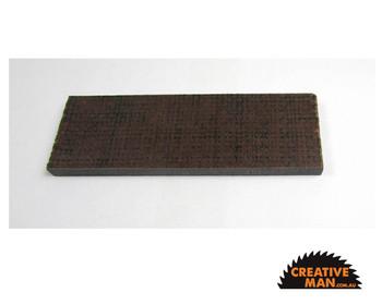 Micarta Brown & Black Jute Handle Scales 7 mm, set of 2