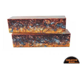 Inlace Acrylester Handle Block, Molten Metal