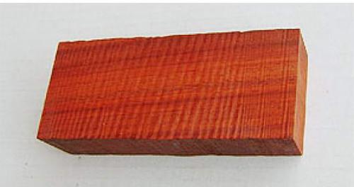 African Padouk Handle Block