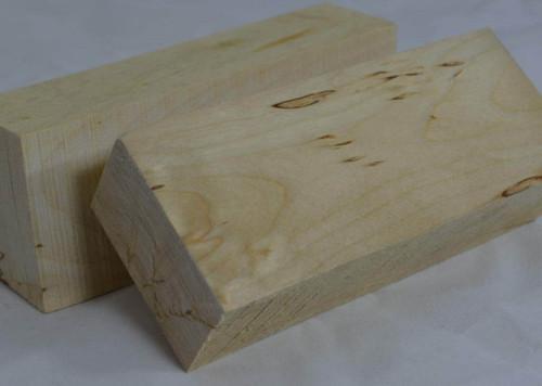Silver Birch handle block (white birch wood)
