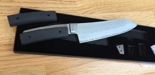shown with optional handle scales in black Regal Wood