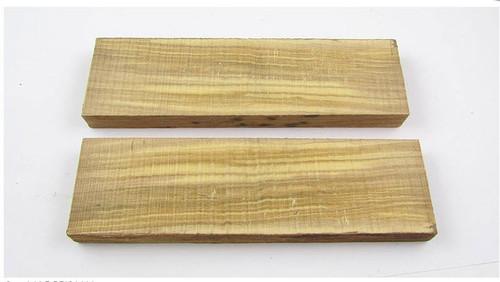 Wild Olive Wood Handle Scales x 2