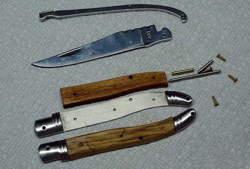 Instructions - Completing the Laguiole French Folding Knife Kit