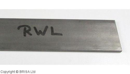 RWL 34,  3.2 x 50 x 500 mm, Damasteel