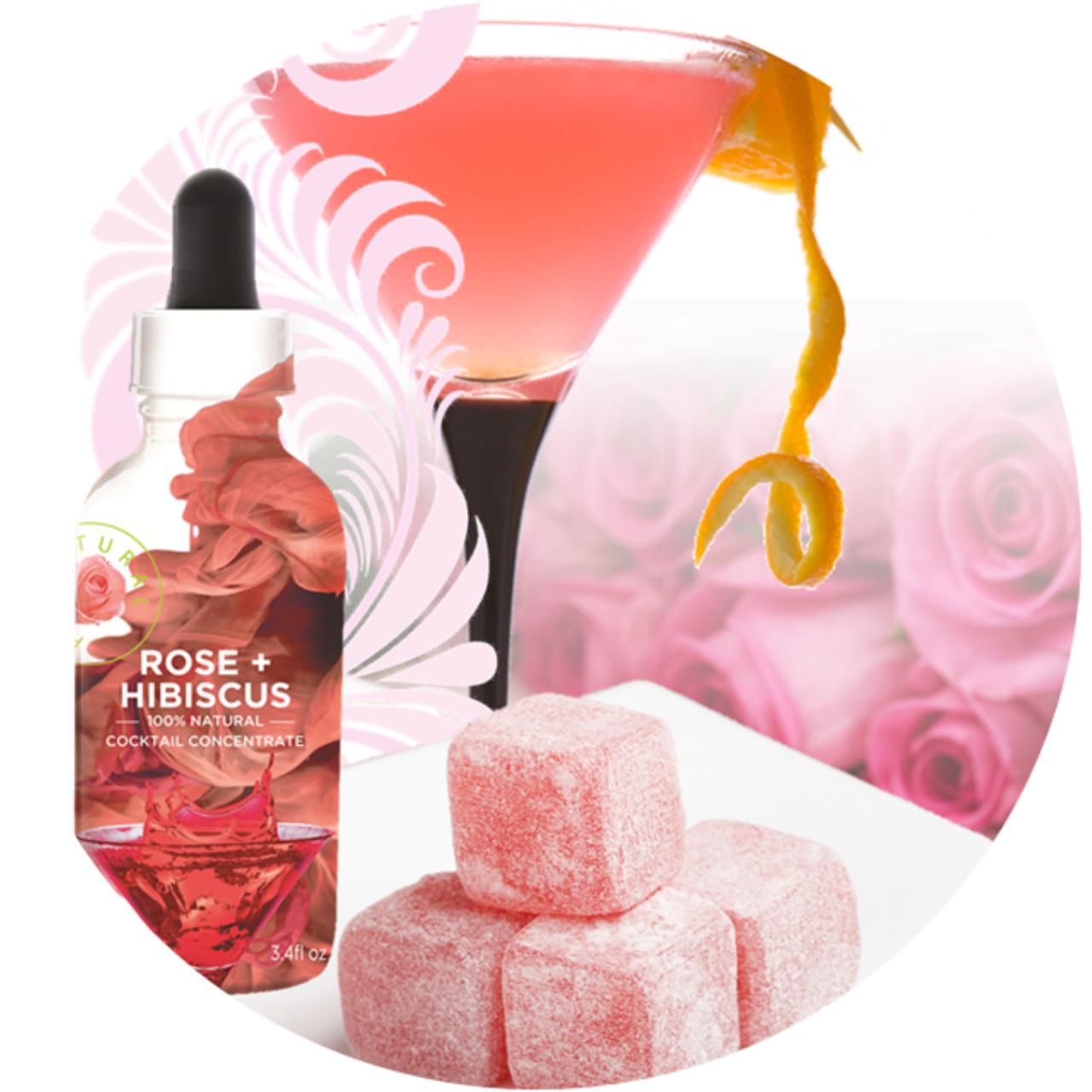 Wild Hibiscus Rose Hibiscus Floral Extract Samoras