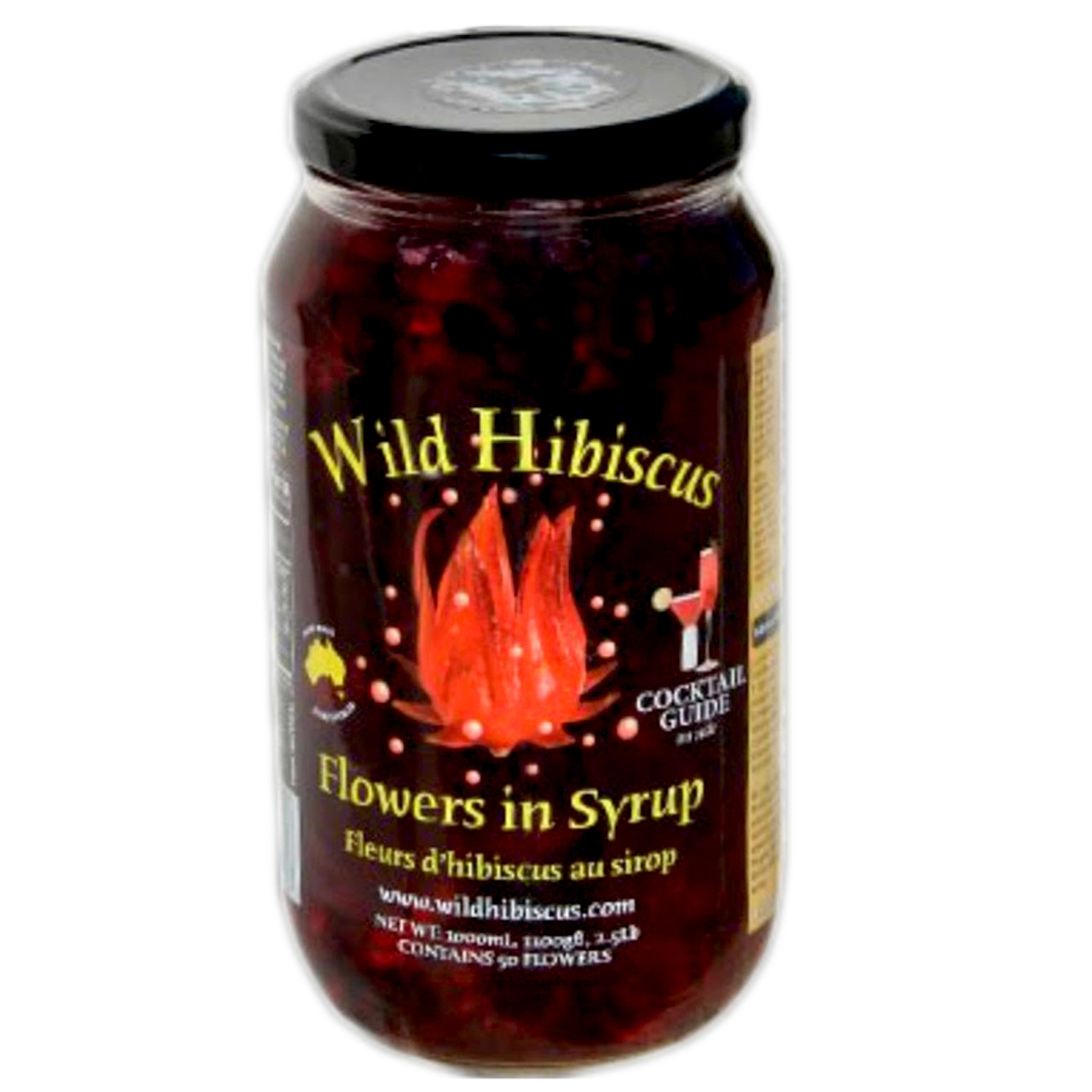 Wild hibiscus flowers in syrup foodservice samoras a nice touch at your special event izmirmasajfo Gallery