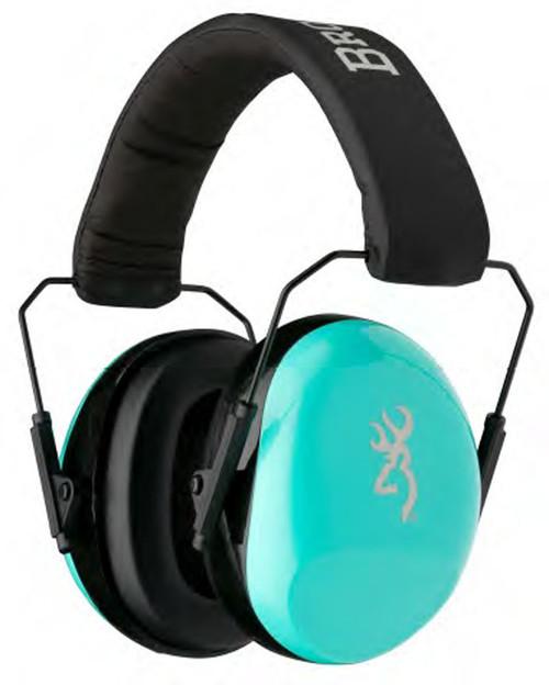 Browning Buckmark II Hearing Protectors-Aqua