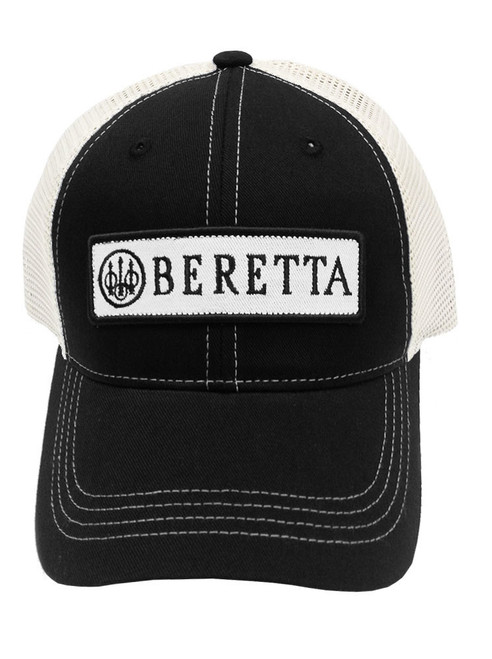 Beretta Patch Trucker Cap-Black