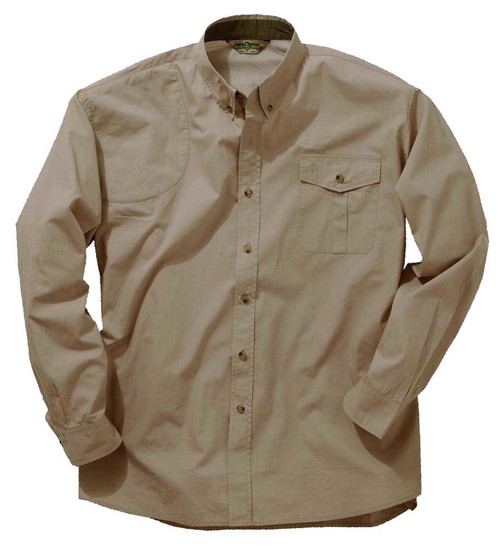 Bob Allen Long Sleeve Mesh Back Shooting Shirt