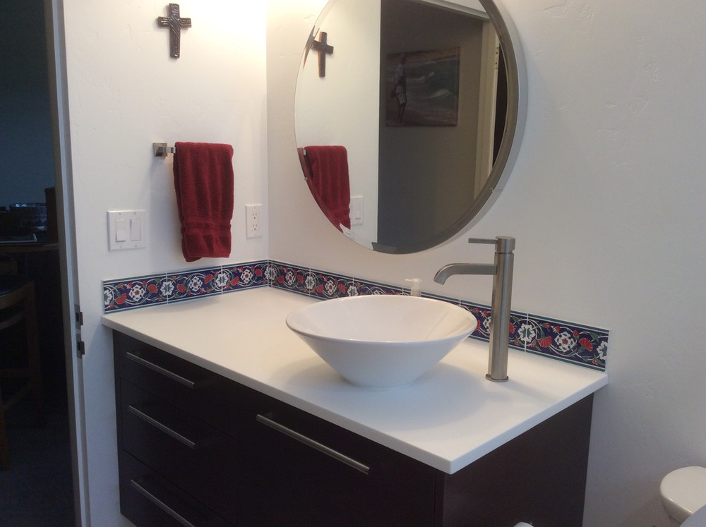 Border tile sink - Caldwell, Idaho USA