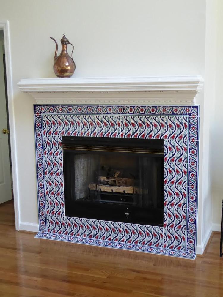 Tiled Hearth - Swansboro, NC - USA S-Tulip 08 combination
