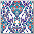 4pc pattern ceramic wall tiles size: 40cm x 40cm