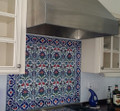 Kitchen North Bergen, New Jersey Floral Pattern with 41 - Border Tile