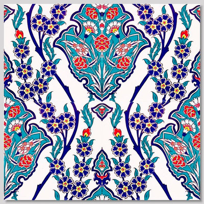 4pc pattern ceramic wall tiles size: 40cm x 40cm