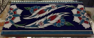 "Ceramic Border Turkish Wall Tile  10x20cm (4x8"")"
