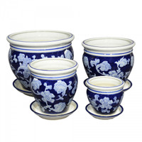 Set of 4 - Diameter 13cm-25 cm