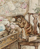 Art Prints of Simpkin Housekeeping by Beatrix Potter