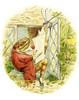 Art Prints of Jeremy Fisher Reads the Newspaper by Beatrix Potter