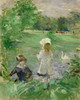 Art Prints of Beside the Lake by Berthe Morisot