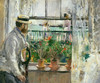 Art Prints of Eugene Manet on the Isle of Wright by Berthe Morisot