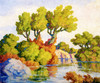 Art Prints of Kansas Landscape, Smoky Hill River by Birger Sandzen
