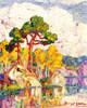 Art Prints of Early Fall, Estes Park, Colorado by Birger Sandzen