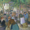 Art Prints of Poultry Market at Gisors by Camille Pissarro