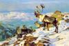 Art Prints of On the Upper Yukon Osborne by Carl Rungius