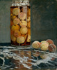 Art Prints of Jar of Peaches by Claude Monet