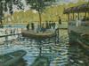 Art Prints of Bain C la Grenouillere by Claude Monet