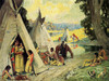 Art Prints of Indian Camp by Eanger Irving Couse