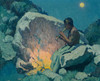 Art Prints of Moonlight Pueblo de Taos II by Eanger Irving Couse